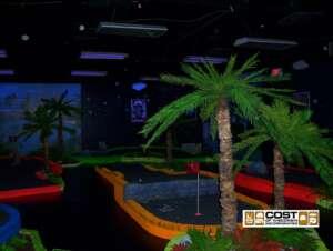 Black Light Miniature Golf14